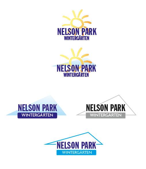 Logo-Entwürfe für Nelson Park Wintergärten