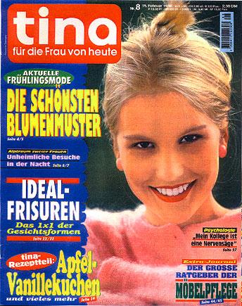"""Frauenzeitschrift """"tina"""", Heinrich Bauer Verlag, Hamburg"""