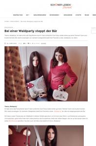 """Artikel zum Thema """"Waldparty"""", schoener-leben.de Journal"""