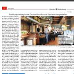 Artikel zur Friesenstube Maritim Seehotel Timmendorfs Strand, Lübecker Stadtzeitung