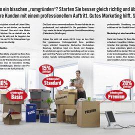 Gründer-Design-Pakete für den Start