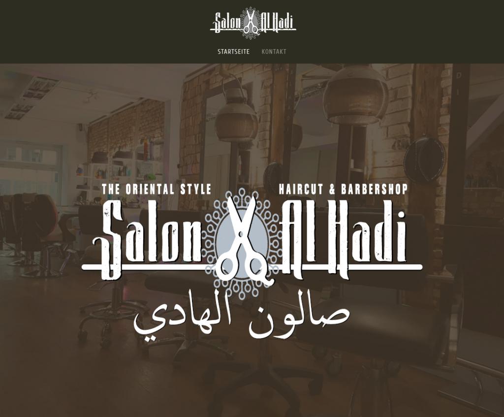 "Website ""Salon Al Hadi"""