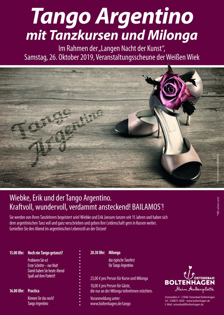 Plakate für die Kurverwaltung Ostseebad Boltenhagen